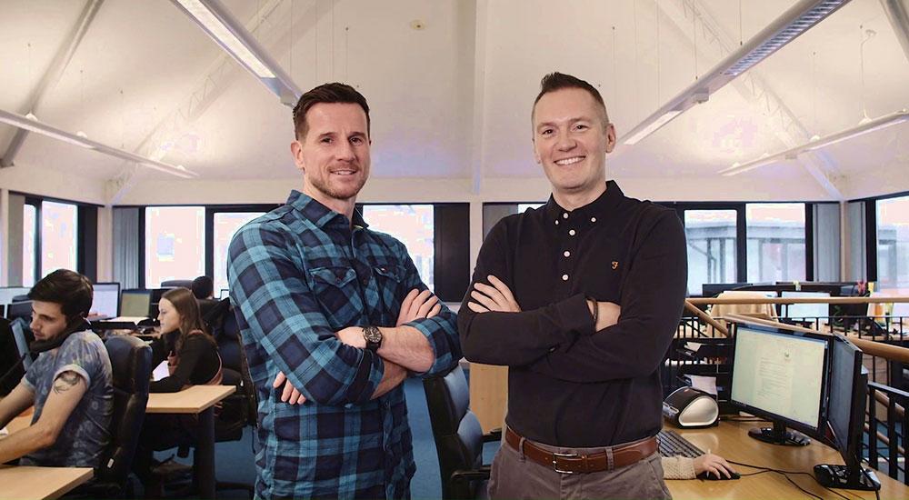 Matt Franks and Miles Lovegrove