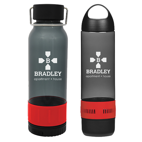 Water Bottle Set with Power Bank and Speaker