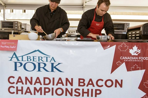 Promo Distributor Competes in Food Championships