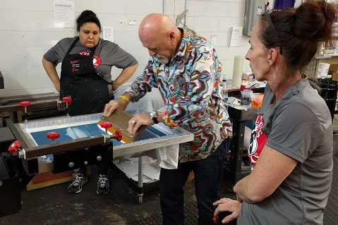 Slideshow: Extreme Screen-Printing Shop Makeover