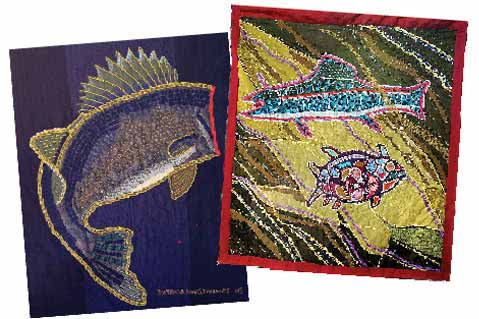 Lac Seul Fabric Art