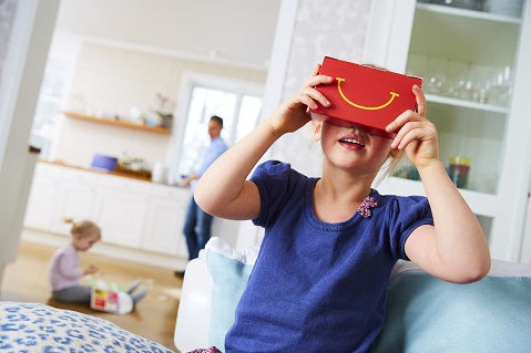 McDonald's Transforms Happy Meal Into VR Headset
