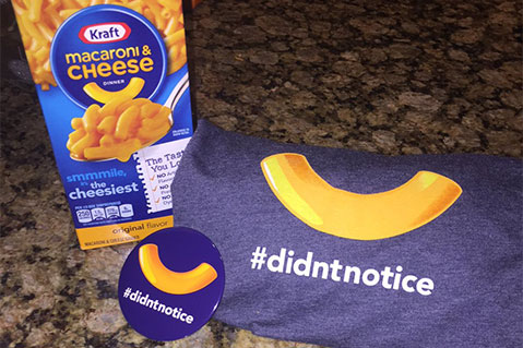 Kraft Campaign Links Social Media and Promo Products