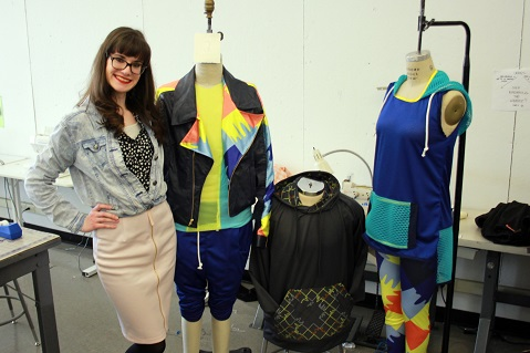 Fashion Faceoff: Judges Assess Erin Keenan's Work