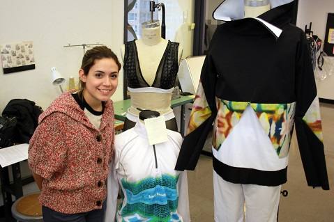 Fashion Faceoff: Judges Assess Lucy Sanchez's Work