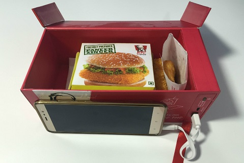 Limited-Edition KFC Meal Box Includes Power Bank
