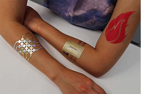 These Temporary Tattoos Turn Your Arm into a Touchpad