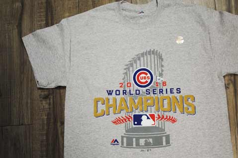 Promo Products Companies Churn Out Championship Gear After Cubs Win
