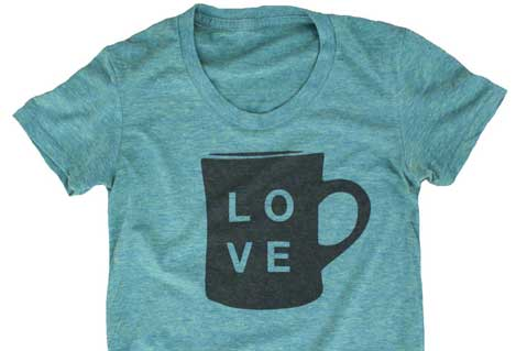 Printers Brew Success With Coffee-Dyed Tees