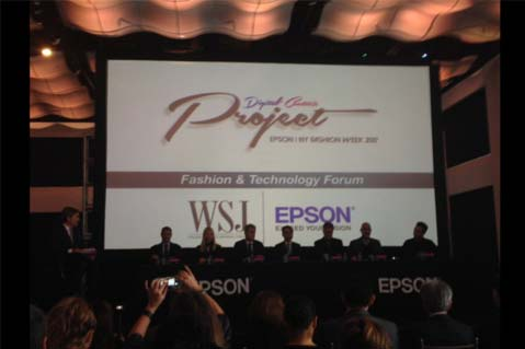 Epson Hosts Fashion And Technology Forum