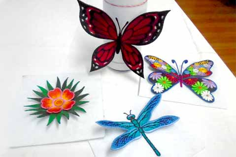 Create Pop-Out Embroidery Projects
