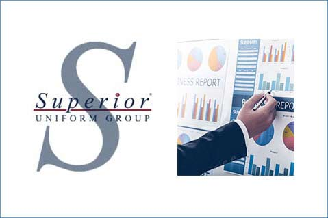 Superior Uniform Group Posts Quarterly Gains