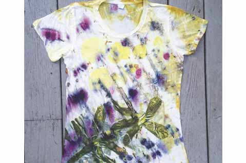 Natural Dyes Decorate Eco-Friendly Apparel