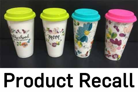 CPSC Recalls Drinkware From Pier 1 Imports, Michaels