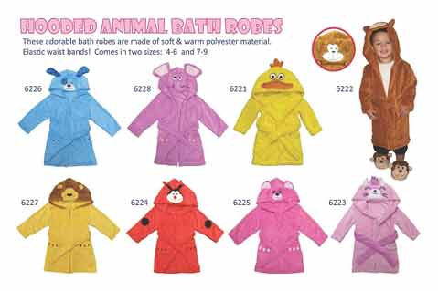 CPSC Recalls Children's Bathrobes