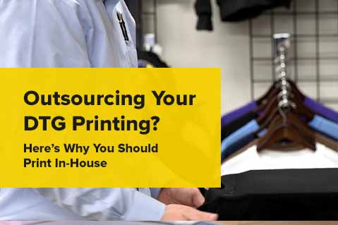 Outsourcing Your DTG Printing? Here's Why You Should Print In-House