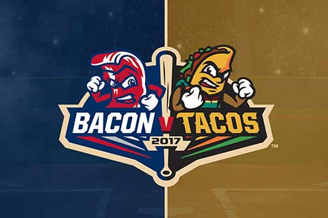 It's Bacon Vs. Tacos In Baseball's Epic Food Fight