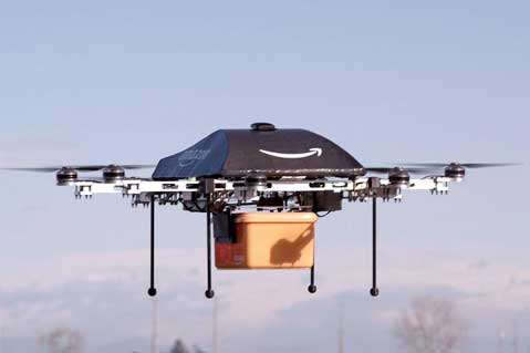 Amazon Seeks Patent for Drone Delivery Beehives