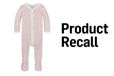 CPSC Recalls Infant Coveralls