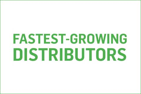 Fastest-Growing Distributors, 2017