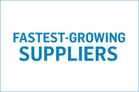 Fastest-Growing Suppliers, 2017