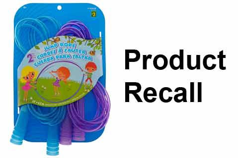 Health Canada Recalls Jump Ropes for Elevated Phthalates
