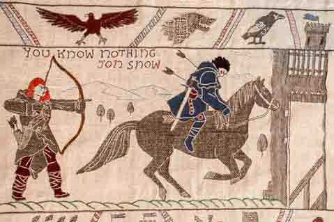 Game of Thrones Plot Retold in Epic Tapestry