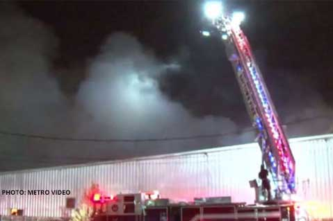 Fire Tears Through Cooler Graphics' Production Facility