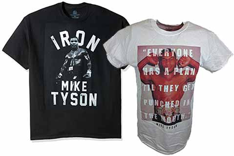 Lawsuit: Merch Purveyor Violated Mike Tyson's Trademarks