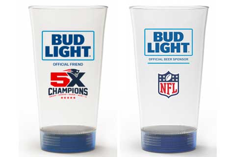 Bud Light to Debut Branded Light-Up Beer Glasses