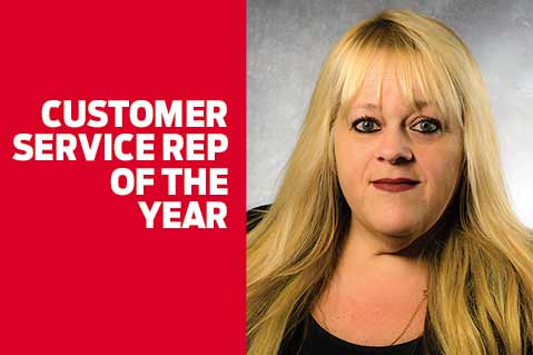 Customer Service Rep of the Year – Ludy Sousa, Hub Pen