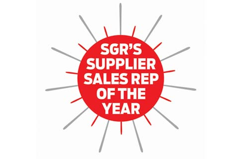 SGR Names Supplier Rep of the Year