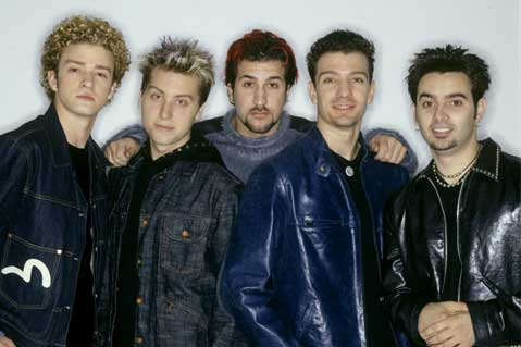 *NSYNC to Release '90s-Inspired Branded Merch