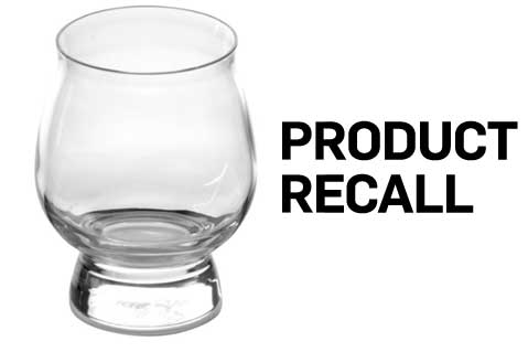 Libbey Glass Recalls Drinkware