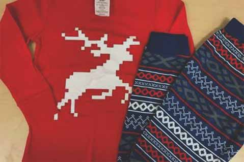 Children's Holiday-Themed Pajamas Recalled