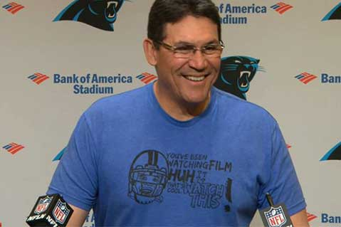 NFL Coach's Humorous Tees Are A Hit