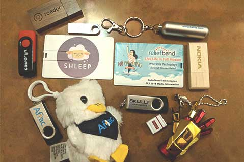 Smart Promotional Items at CES