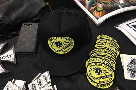 Branded Merch Abounds at 20th Annual Philadelphia Tattoo Convention