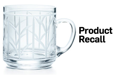 CPSC Recalls Tiffany & Co. Mugs