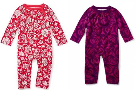 Tea Collection Recalls Children's Rompers