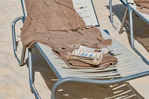 Beach Town Considers Towel Ban