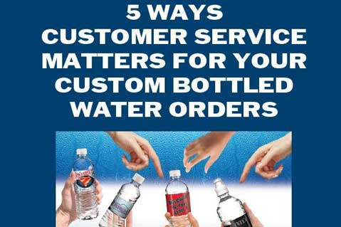5 Ways Customer Service Matters For Your Bottled Water Orders