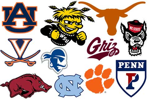 The Best Logos in This Year's College Basketball Tourney