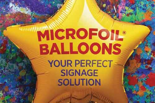 Microfoil Balloons: Your Perfect Signage Solution