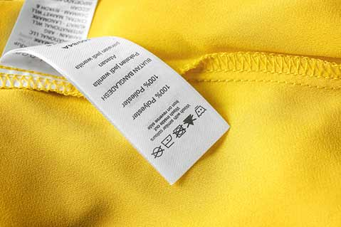 California Considers Extra Labeling for Polyester Clothing