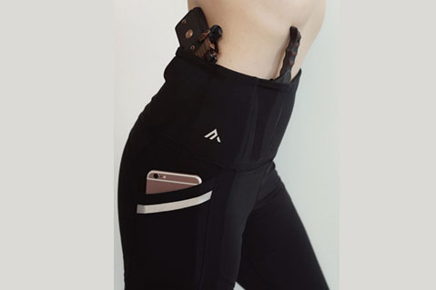 These Yoga Pants Include a Pocket For a Gun