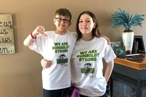 Imprinted Merch Benefits Bus Crash Victims
