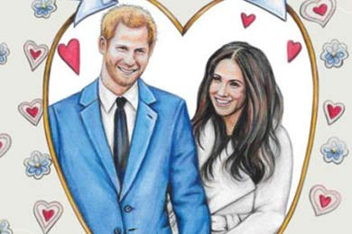 Commemorative Merch Abounds for Harry & Meghan's Royal Wedding