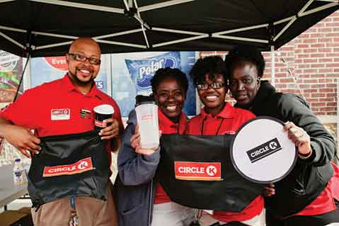 Promo Items Integral Part Of Circle K Grand Opening