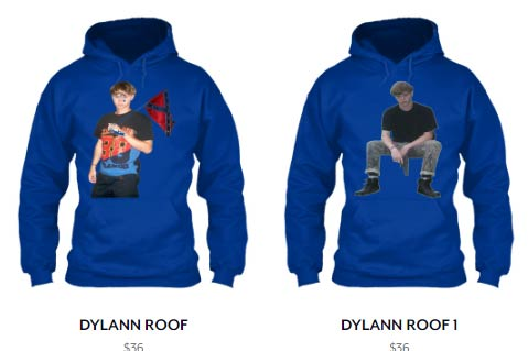 Teespring Sells, Then Removes, Apparel Glorifying Dylann Roof